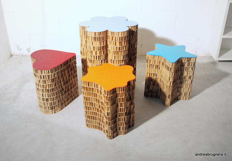 Eco arredamento villekulla small design for Arredi di cartone